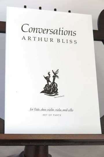 Bliss A - Conversations for Flute Oboe Violin Viola & Cello